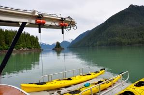 Kayak ready to go